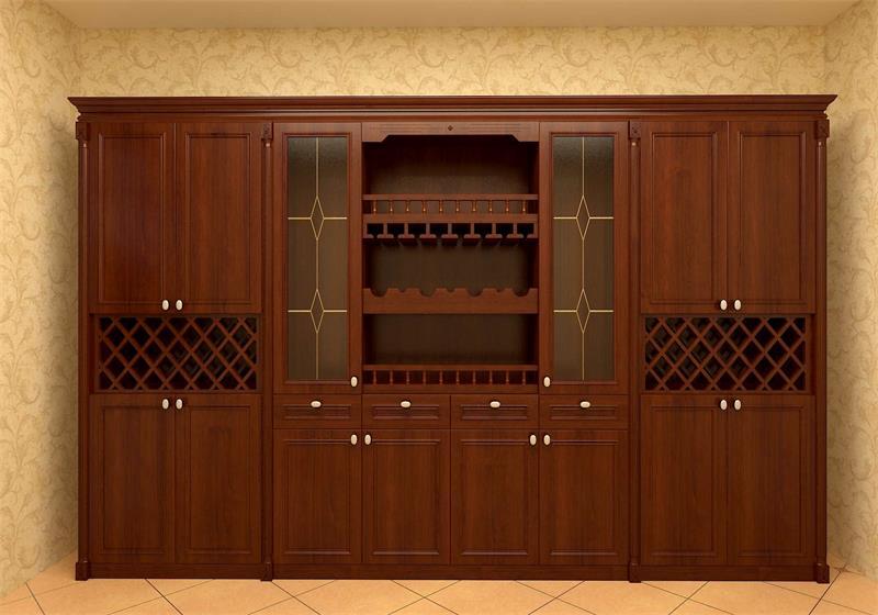 欧式酒柜设计学习图