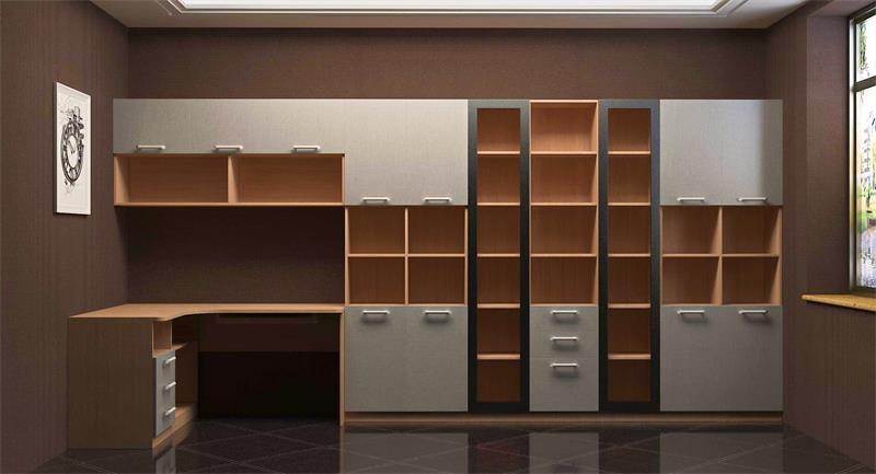 板式书柜设计学习图